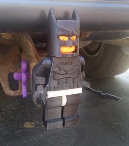 3d - Batman Minifig Hitch