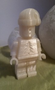 3d - Holiday Minifig