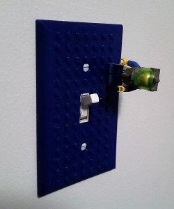 3d - Lego Light Switch Plate